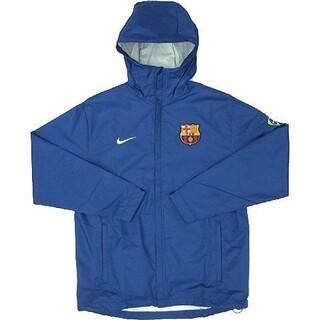 NIKE - NIKE ナイキ FCバルセロナ ナイロンジャケット Mサイズ ブルー 超美品