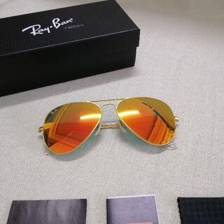 Ray-Ban - レイバンサングラス アビエーターRB3025 112/69ゴールドブラウン