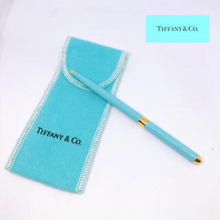Tiffany & Co. - 未使用 保管品 ティファニー ボールペン 回転式リトラクタブル