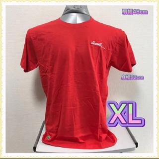 ラコステ(LACOSTE)の【新品・未使用】Lacoste Tシャツ XL 赤(Tシャツ/カットソー(半袖/袖なし))
