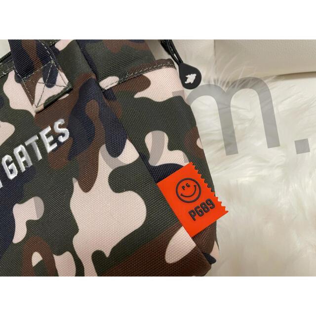 PEARLY GATES(パーリーゲイツ)の【新品・正規品】大人気 完売 パーリーゲイツ カモフラ柄 カートバック スポーツ/アウトドアのゴルフ(バッグ)の商品写真