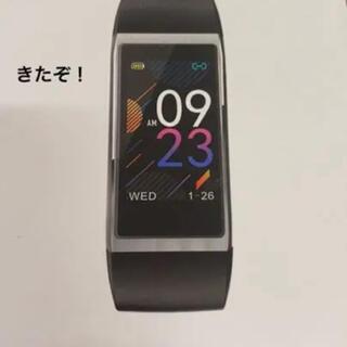 アイフォーン(iPhone)の新品未使用 スマートウォッチ スマートブレスレット 心拍計(腕時計(デジタル))
