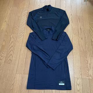 DESCENTE - 野球アンダーシャツ  ネイビー 濃紺 Lサイズ フィットタイプ