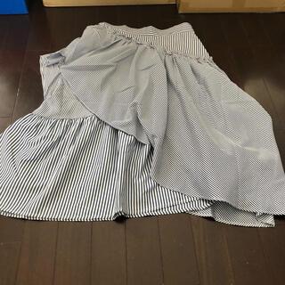 未使用 ストライプスカート s(ひざ丈スカート)