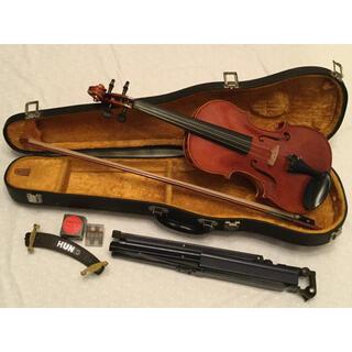 スズキ(スズキ)のスズキ バイオリン No.550  4/4  Anno 1979 + 付属品6点(ヴァイオリン)