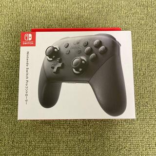 ニンテンドースイッチ(Nintendo Switch)の新品未使用 任天堂 Nintendo SWITCH PROコントローラー(その他)