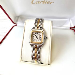 Cartier - 国際保証書付き✨美品 カルティエ Cartier パンテール 1ロウ 腕時計