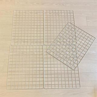 キャンドゥ ワイヤーネットBタイプ サイズ約485×375mm 5枚セット(その他)