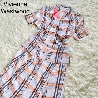 Vivienne Westwood - 【未使用タグ付】ヴィヴィアンウエストウッド RED LABEL シャツ スカート