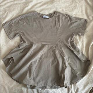 未使用品 CIAOPANIC TYPY フレアヘムTシャツ