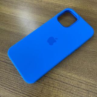 Apple - iPhone 12 mini MagSafe 純正 シリコンケース カプリブルー