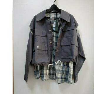SCOT CLUB - 新品 MICALLEMICALLEシャツ×ベスト