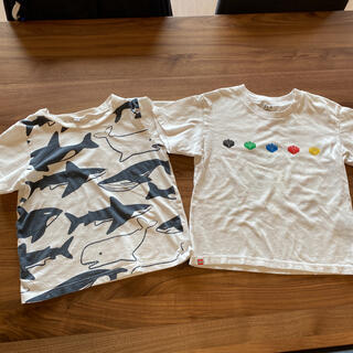 UNIQLO - 半袖Tシャツ 120 2枚セット UNIQLO 西松屋