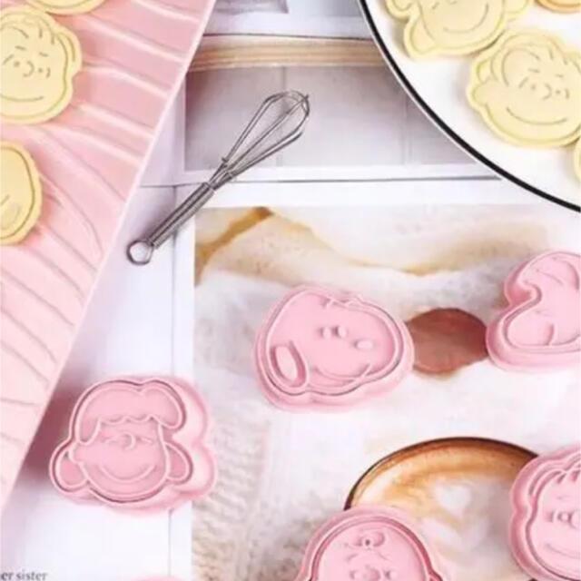 SNOOPY(スヌーピー)のスヌーピークッキー型 セット売り スヌーピー SNOOPY かわいい エンタメ/ホビーのおもちゃ/ぬいぐるみ(キャラクターグッズ)の商品写真