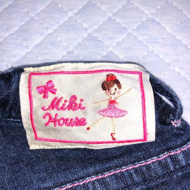 mikihouse(ミキハウス)のミキハウス ハーフパンツ110 キッズ/ベビー/マタニティのキッズ服女の子用(90cm~)(パンツ/スパッツ)の商品写真