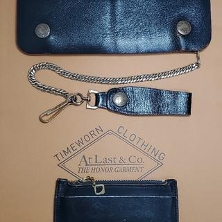 テンダーロイン(TENDERLOIN)のATLAST&CO アットラスト ホースハイドウォレット TIMEWORN財布(長財布)