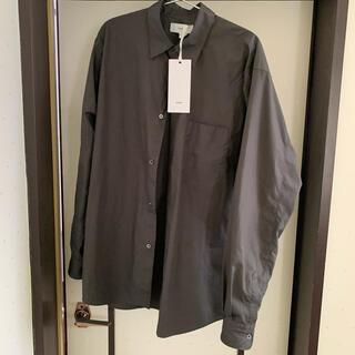 COMOLI - Graphpaper レギュラーカラーシャツ gray