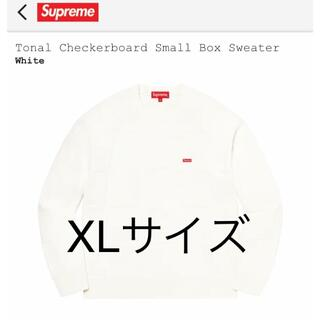 シュプリーム(Supreme)のSupreme Tonal Checkerboard Small Box XL(ニット/セーター)