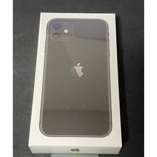 Apple - iPhone11  64GB ブラック  【新品・未使用】