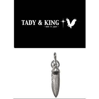 ゴローズ(goro's)の正規品  TADY&KING  ホイールフェザーSV Mサイズ 左右セット(ネックレス)