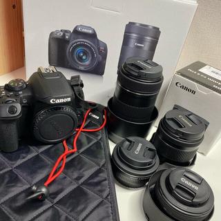 Canon - EOSKissX10iダブルズームキット➕レンズ2本➕カメラカバー➕バッテリー1