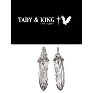 ゴローズ(goro's)の正規品  TADY&KING  爪SVフェザー  Sサイズ 左右セット(ネックレス)