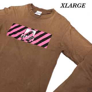 エクストララージ(XLARGE)のメンズ レディース XLARGE ロンT Tシャツ vintage プリント(Tシャツ/カットソー(七分/長袖))