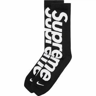 シュプリーム(Supreme)のSupreme Nike Lightweight Crew Socks 黒 3 (ソックス)