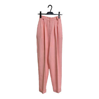 vintage pink pants   made in USA