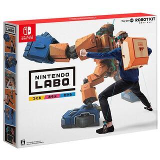 ニンテンドースイッチ(Nintendo Switch)の【新品未開封】任天堂 NintendoLabo ToyCon 02 RobotK(家庭用ゲームソフト)