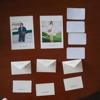 グッチ(Gucci)のおっくーさま専用⭐️GUCCI☆ メッセージカード3セット(ノベルティグッズ)