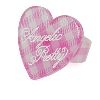 アンジェリックプリティー(Angelic Pretty)のangelic pretty Lovely ギンガムリング(リング(指輪))