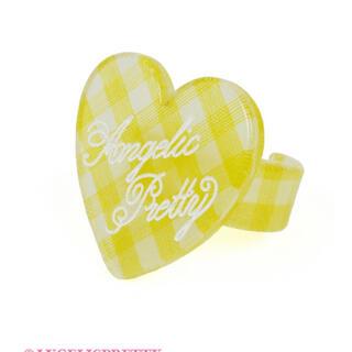 アンジェリックプリティー(Angelic Pretty)のangelic pretty Lovelyギンガムリング(リング(指輪))