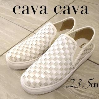 cavacava - cava cava サヴァサヴァ メッシュ スリッポン スニーカー シューズ