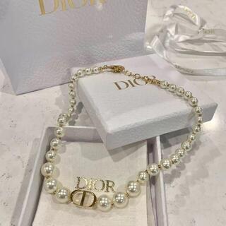 クリスチャンディオール(Christian Dior)のChristian Dior チョーカーネックレス(ネックレス)
