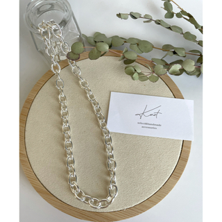 TODAYFUL - silver 925 sturdy chain necklace
