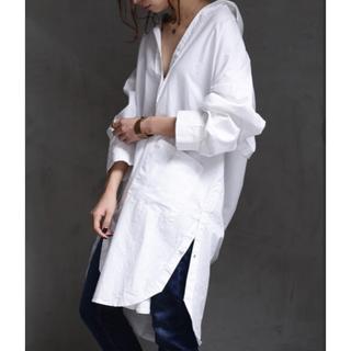 antiqua - 【antiqua】 長袖ロングシャツ 羽織にも。