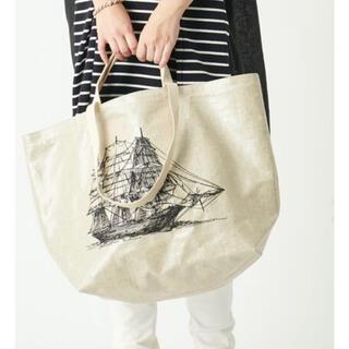 BEARDSLEY - ビアズリー  船刺繍トートバッグ