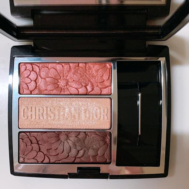 Christian Dior(クリスチャンディオール)のディオール トリオ ブリック パレット ピュア グロウ 663  コスメ/美容のベースメイク/化粧品(アイシャドウ)の商品写真