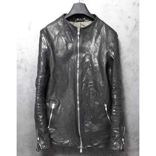 ISAMUKATAYAMA BACKLASH - incarnation  NO COLLAR MOTO BLOUSON