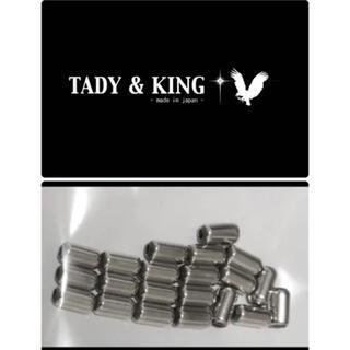 ゴローズ(goro's)の正規品 タディアンドキング TADY&KING  SV中空パイプビーズ 22個(ネックレス)