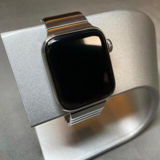Apple Watch - apple Watch 5 チタニウム 40mm リンクブレスレット