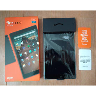 ANDROID - Fire HD 10 Alexa搭載  Amazon タブレット