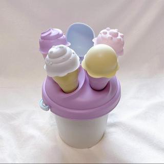 スリーコインズ(3COINS)の3coins アイス砂遊びセット(知育玩具)