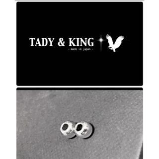 ゴローズ(goro's)のタディアンドキング TADY&KING SV中空ビーズ10mm 2個(ネックレス)