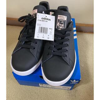 adidas - adidas スタンスミス BLACK and PINK 23.5cm 未使用品