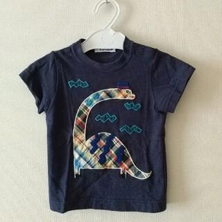 familiar - 美品!ファミリア 恐竜Tシャツ 90サイズ
