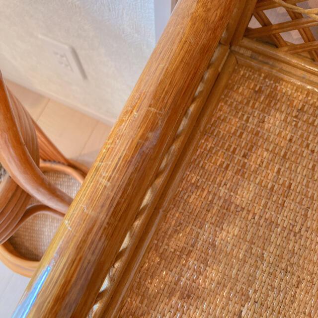 ACTUS(アクタス)のかなり美品 ラタンランドリー バスケット ナチュラル アンティーク ヴィンテージ インテリア/住まい/日用品の収納家具(棚/ラック/タンス)の商品写真