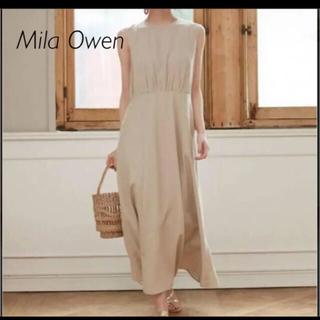 ミラオーウェン(Mila Owen)のMila Owen ミラオーウェン 後ろ開き ワンピース(ロングワンピース/マキシワンピース)