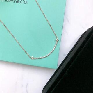 Tiffany & Co. - 新品 ティファニー Tスマイルネックレス